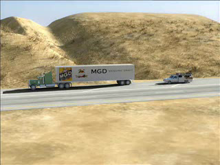 Trial Animation w/o Defendant's Truck